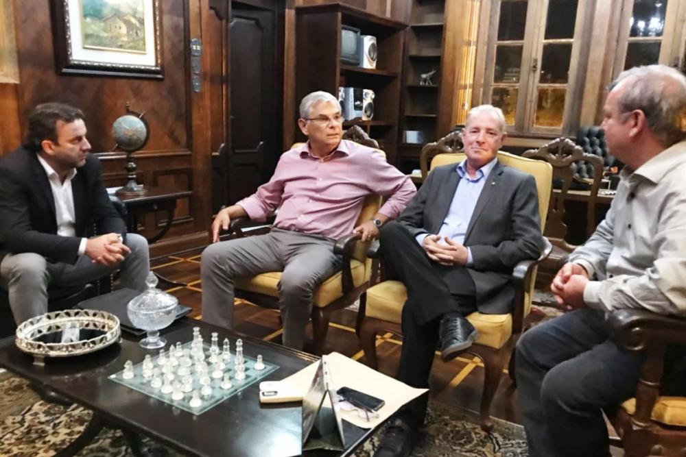 Jerry, Moreira, Aldo e Peninha - Ramiro Fernandes/Divulgação/ND