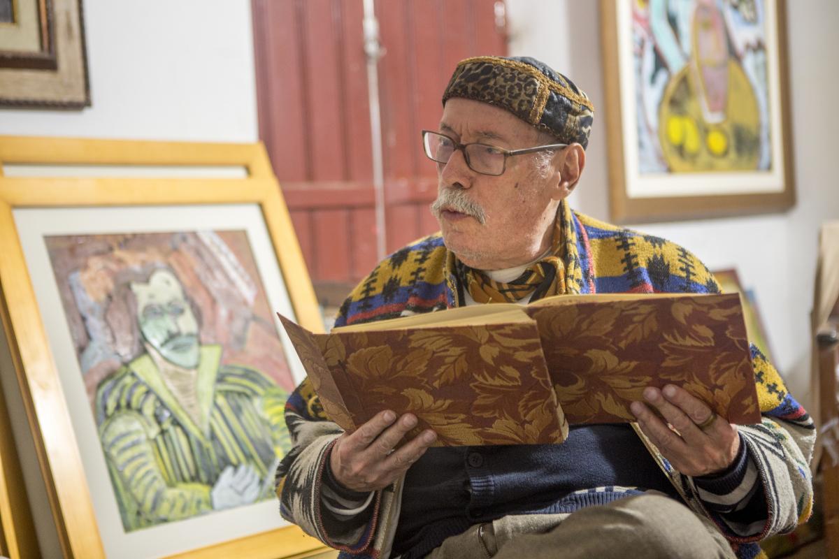 Retrospectiva abrange os temas caros ao pintor e poeta  - Flávio Tin/Arquivo/ND