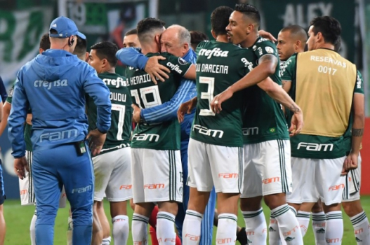 Palmeiras atingiu número raro na temporada mesmo após derrota para o Cerro Porteño - AFP