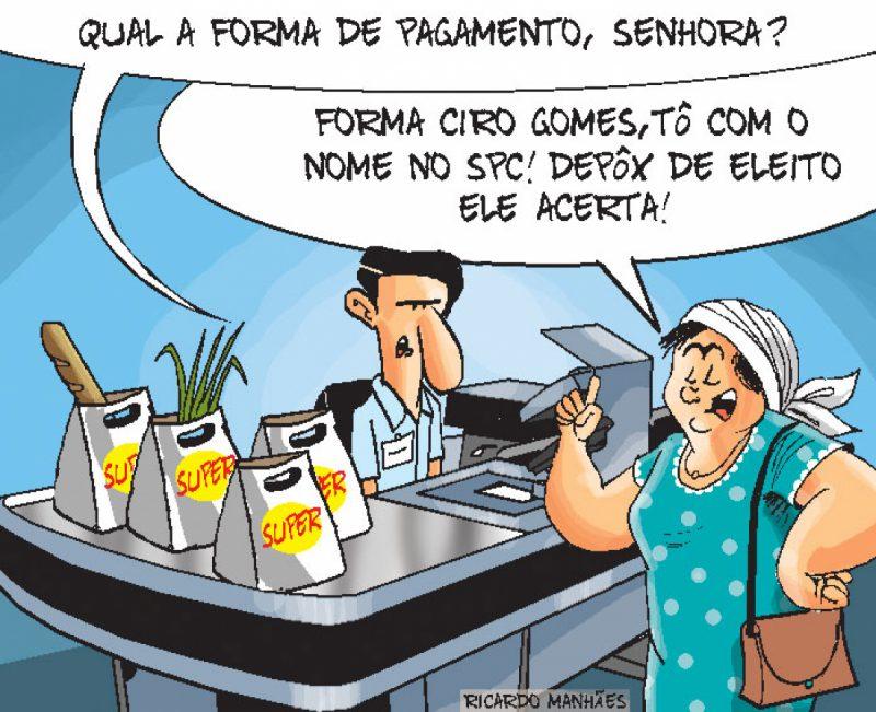 Pagamento com Ciro Gomes