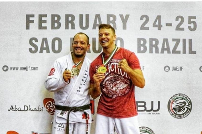 Rogério Padovan entrará em ação na disputa do São Paulo International Open, da CBJJ (Foto: Divulgação)