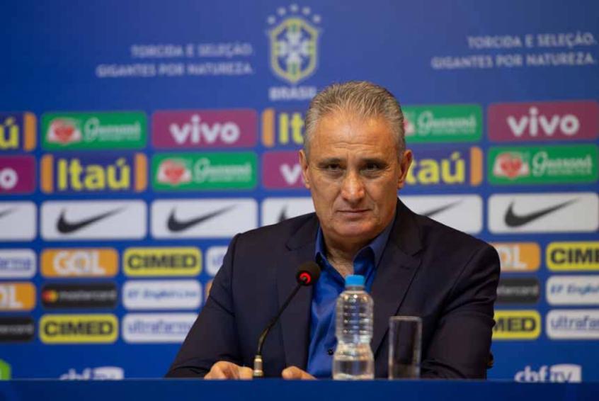 Tite: 'A ideia de futebol permanece inalterada' (Foto: Pedro Martins / MoWA Press)