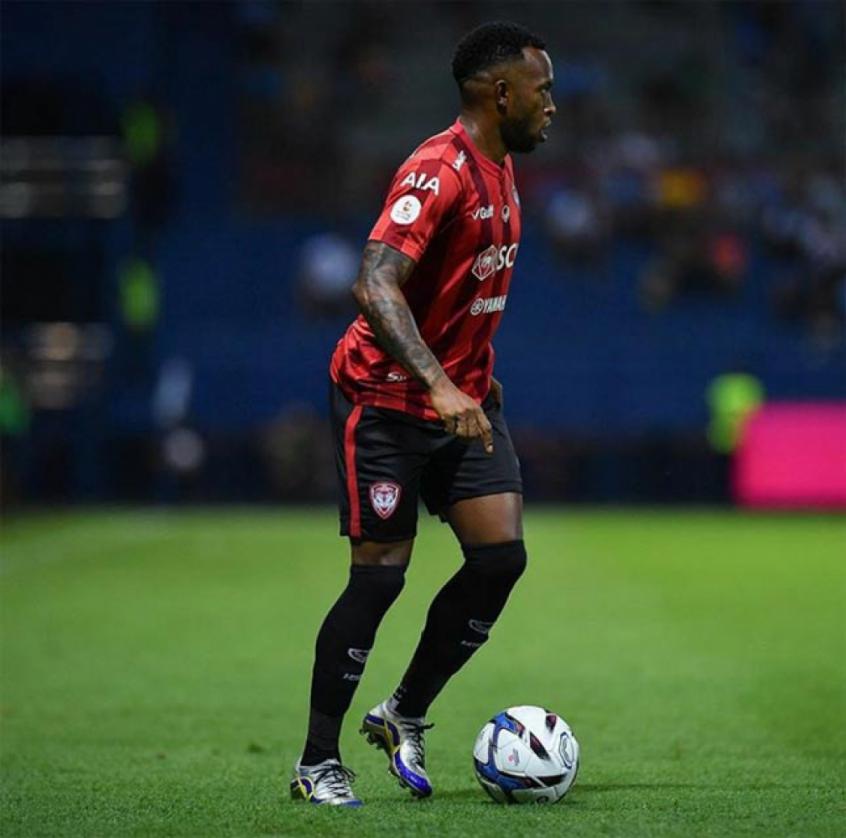 Heberty é um dos principais brasileiros da Liga Tailandesa (Foto: Divulgação)