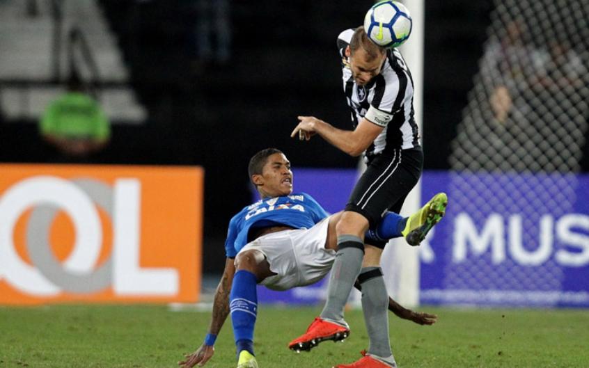 Mano não gostou da atuação do time e afirmou que faltou melhor desempenho celeste- Vitor Silva/SSPress/Botafogo.