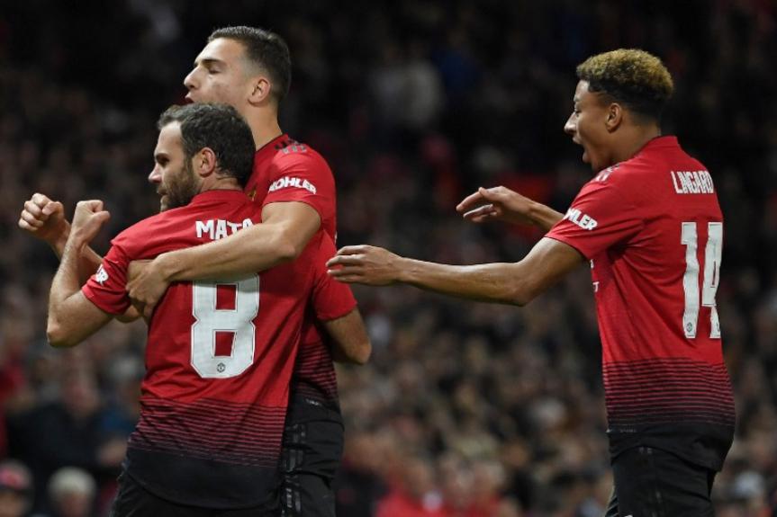 O Manchester United faz parte do grupo fundador da Superliga Europeia. – Foto: AFP