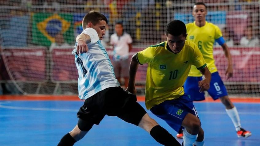 Brasil vence Argentina e vai à final de futsal nos Jogos Olímpicos da Juventude (Foto: Divulgação/FIFA)