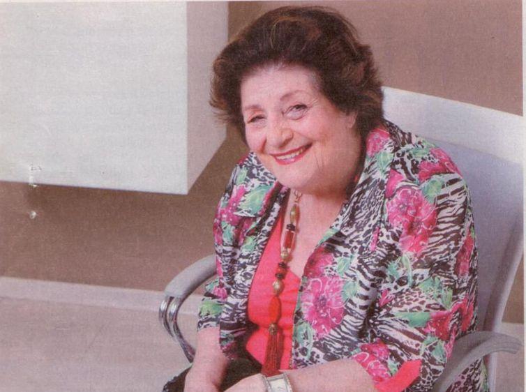 A escritora Zibia Gasparetto lutava contra um câncer no pâncreas - Biblioteca Santos Dumont/Governo Santa Catarina