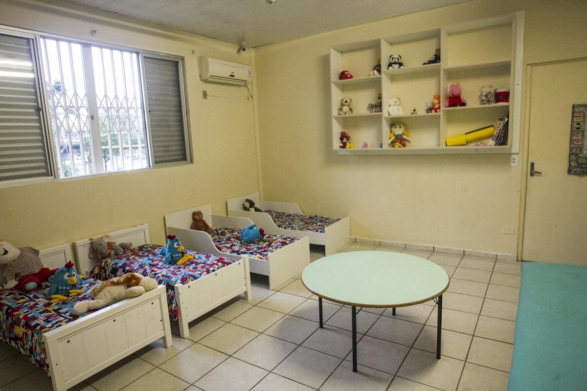 Só entram neste programa as crianças que estão destituídas e que têm pouca possibilidade de adoção - Marco Santiago/ND