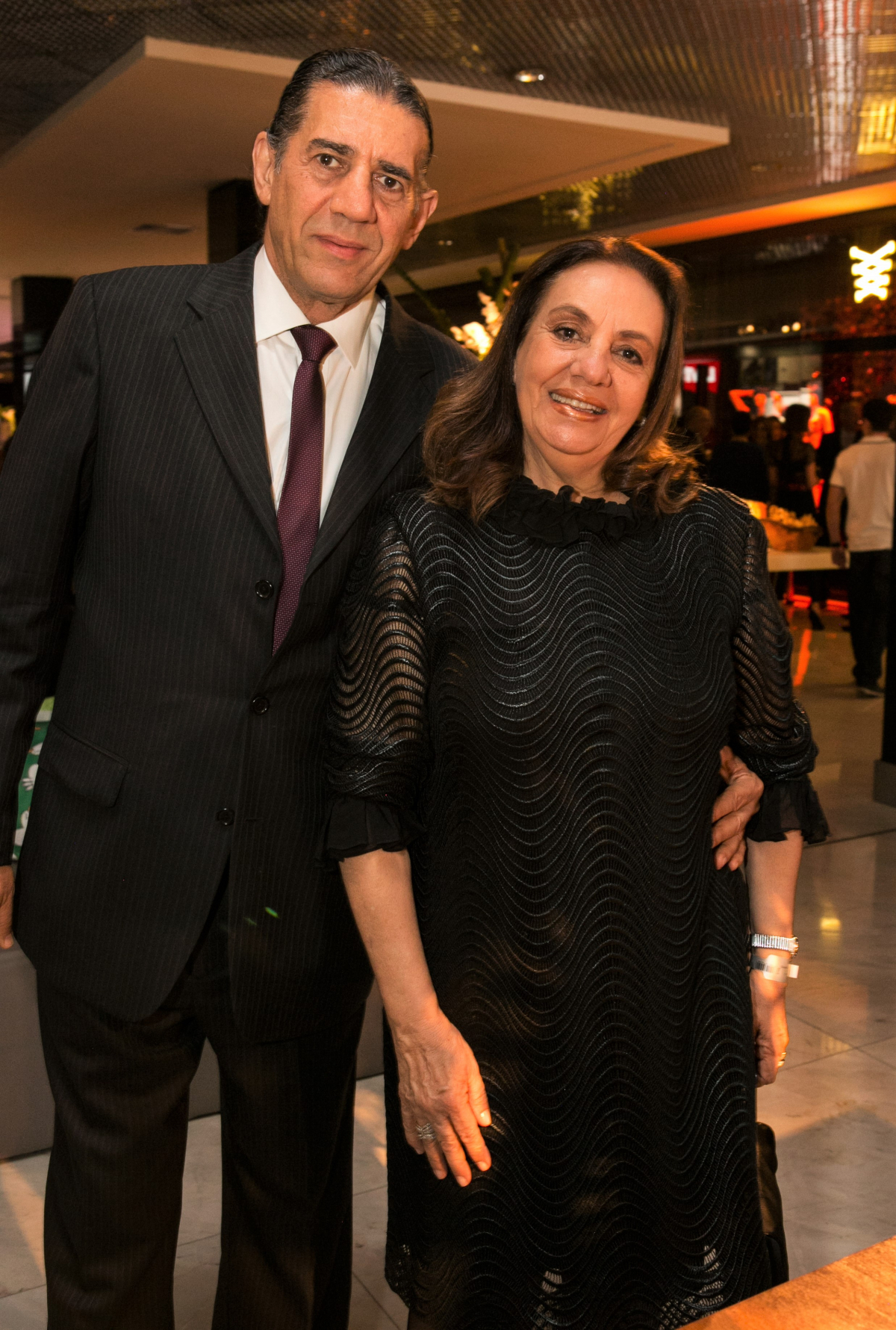 Syriaco Atherino Szpoganicz e Ana Tibau - RENATO GAMA/DIVULGAÇÃO/ND