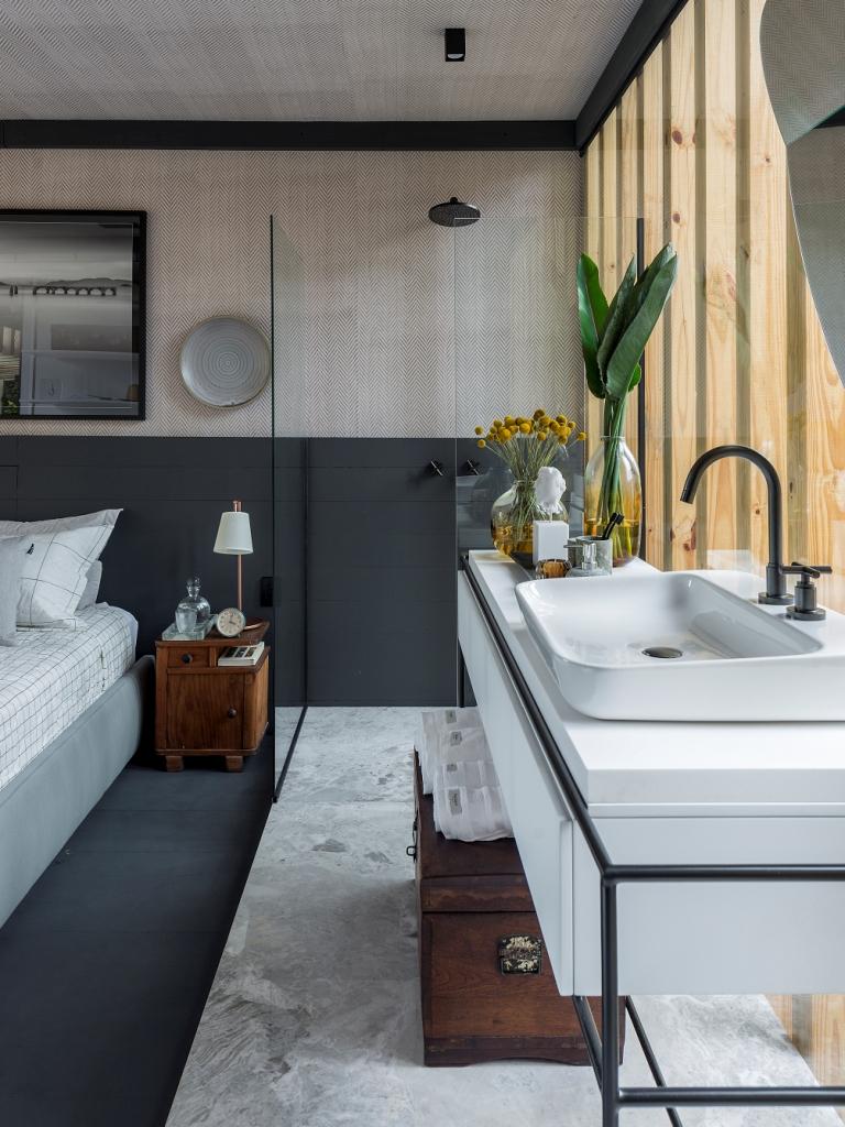 Casa Ônix By Karsten é projeto de Gabriel Bordin - Foto/Lio Simas