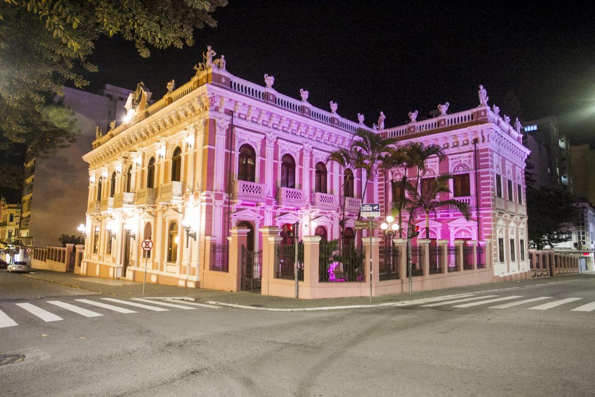 Museu Cruz e Sousa, no Centro da Capital - Marco Santiago/ND