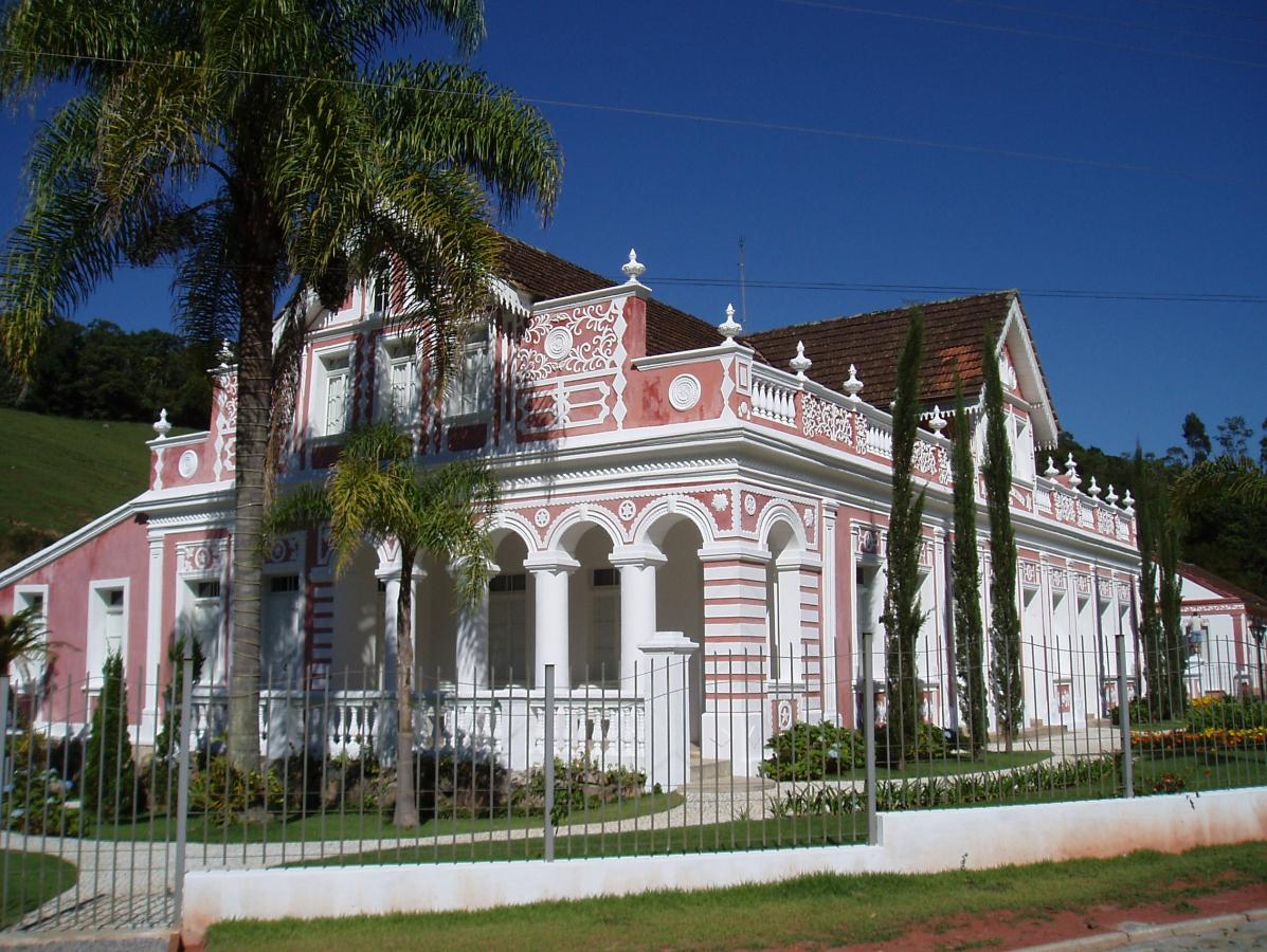 Patrimônio conservado em São Pedro: Casarão Kretzer, do início do século 20, foi inteiramente restaurado - Carlos Damião