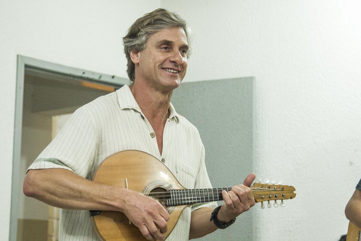 Geraldo Vargas é organizador do evento que conta com shows e oficinas - Marco Santiago/Arquivo/ND