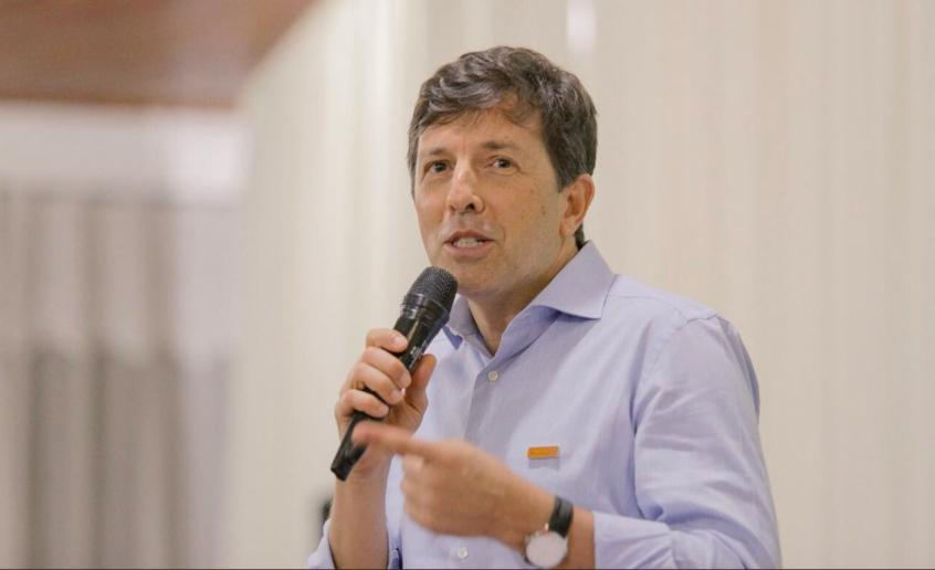 O engenheiro João Amoêdo, do NOVO, disputa uma eleição pela primeira vez (Foto: Divulgação) -