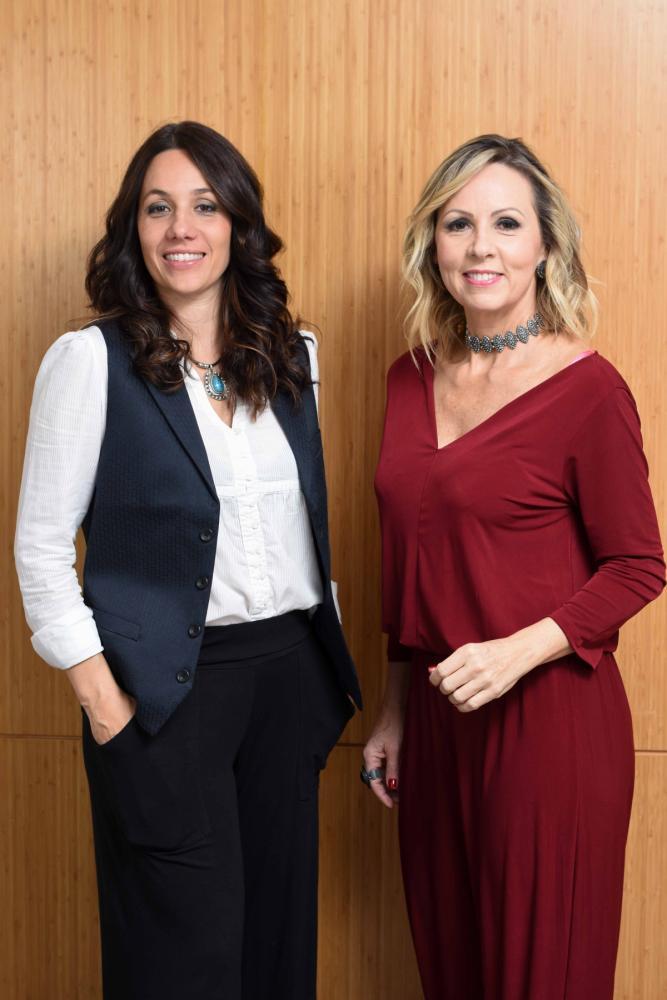 Larissa Gransotto e Laura Gransotto: mãe e filha trabalhando juntas - Foto/Divulgação