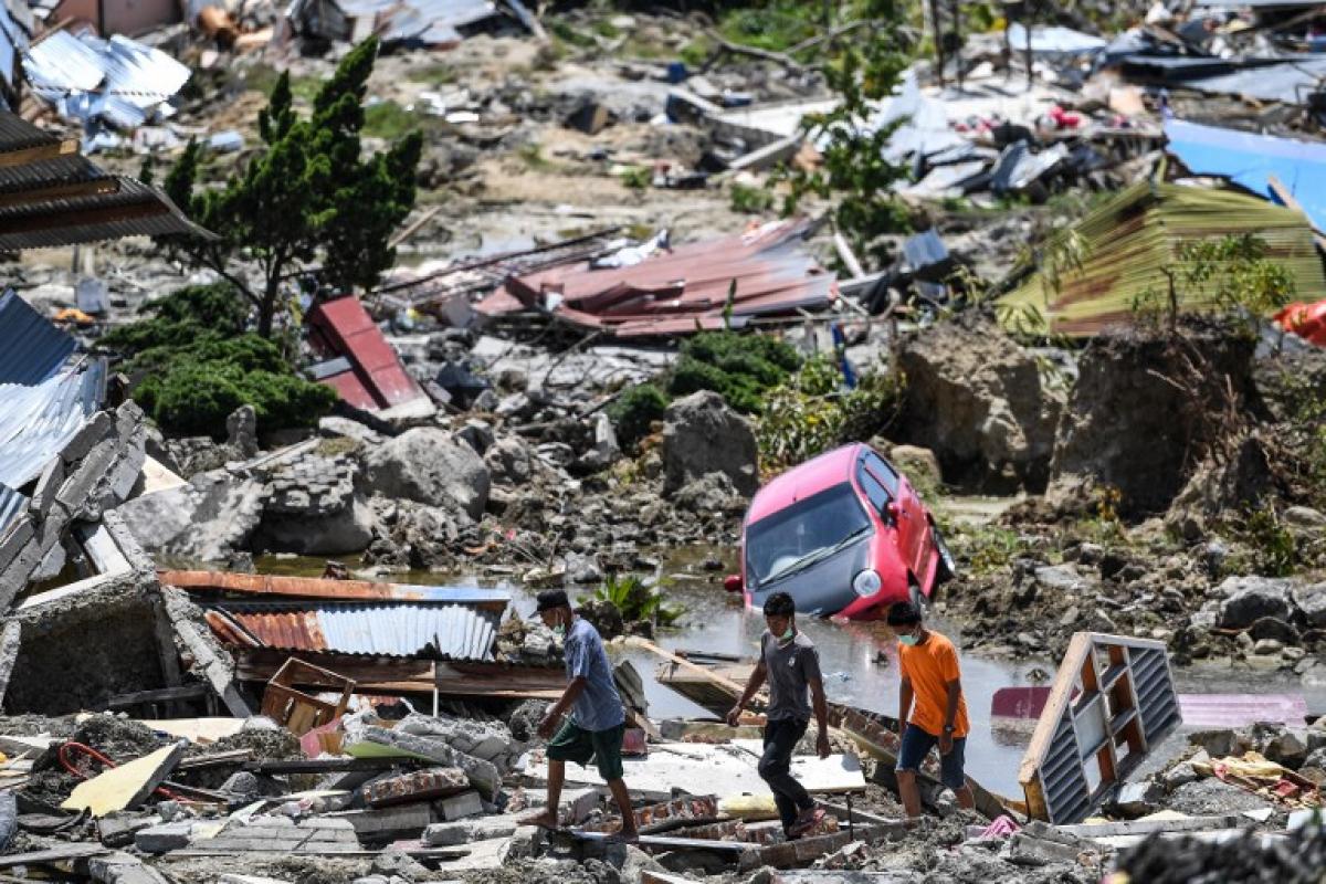 """Cruz Vermelha definiu a situação como um """"pesadelo"""" - MOHD RASFAN / AFP"""