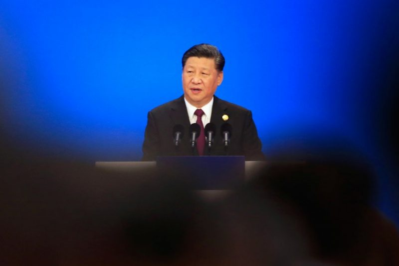 Presidente chinês Xi Jinping – Foto: Aly Song/Pool/AFP
