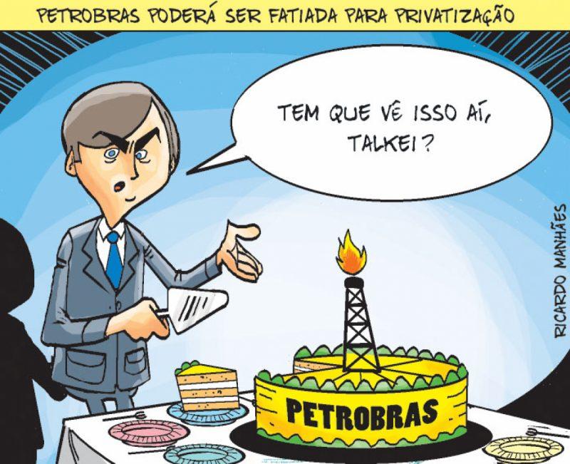 Petrobras poderá ser fatiada para privatização