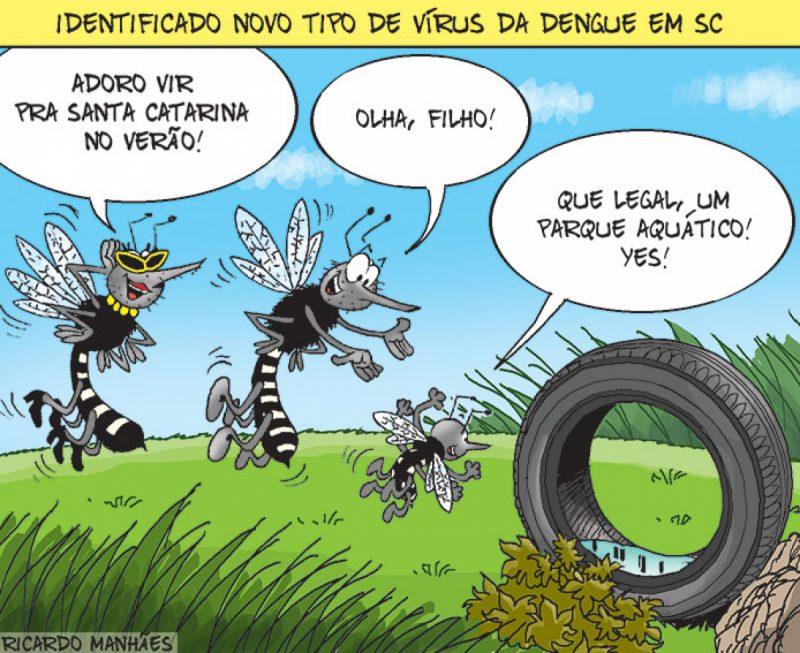 Identificado novo tipo de vírus da dengue em SC