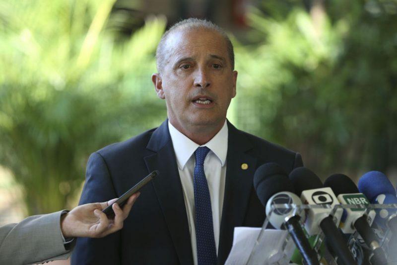 Ministro-chefe da Casa Civil, Onyx Lorenzoni vai coordenar a comitiva na região da Amazônia Legal – Valter Campanato/Agência Brasil