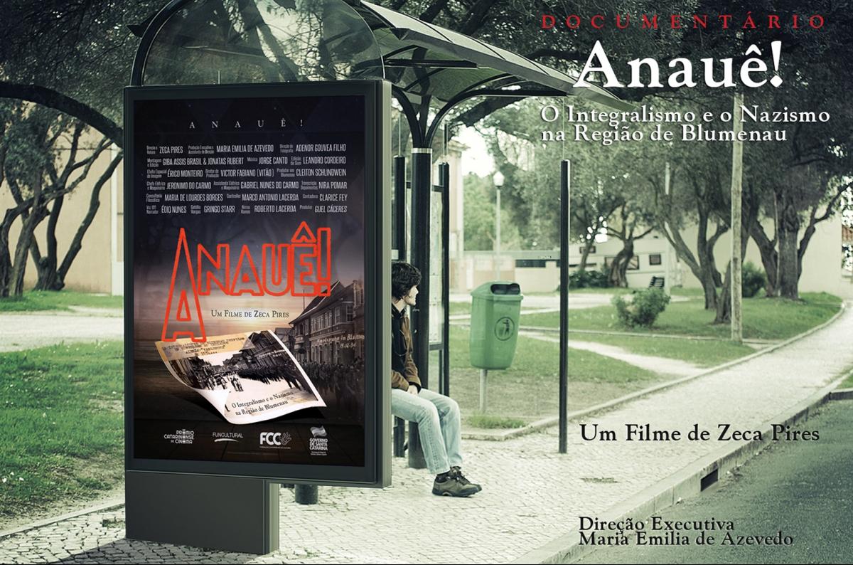 Peça promocional do documentário catarinense - Divulgação