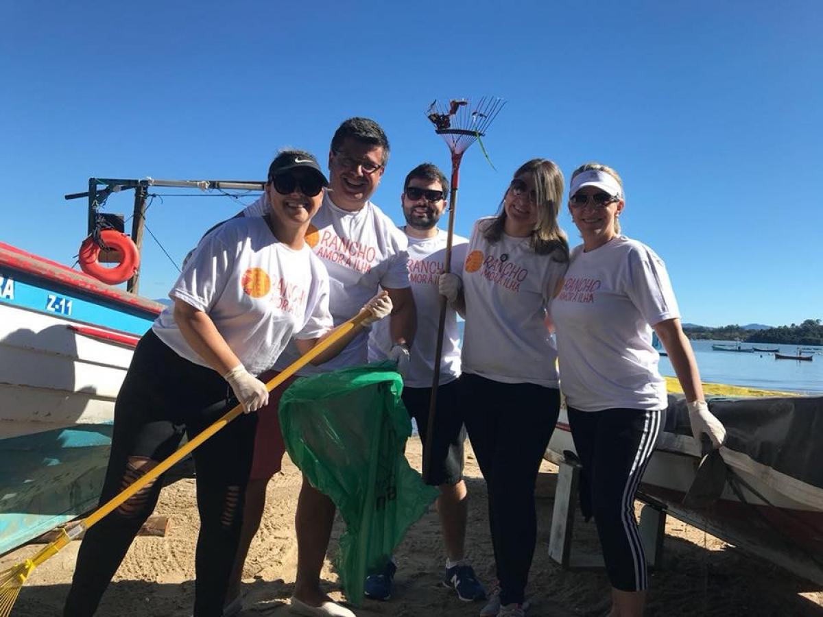 Iniciativa reúne comunidade local e prefeitura - PMF/Divulgação