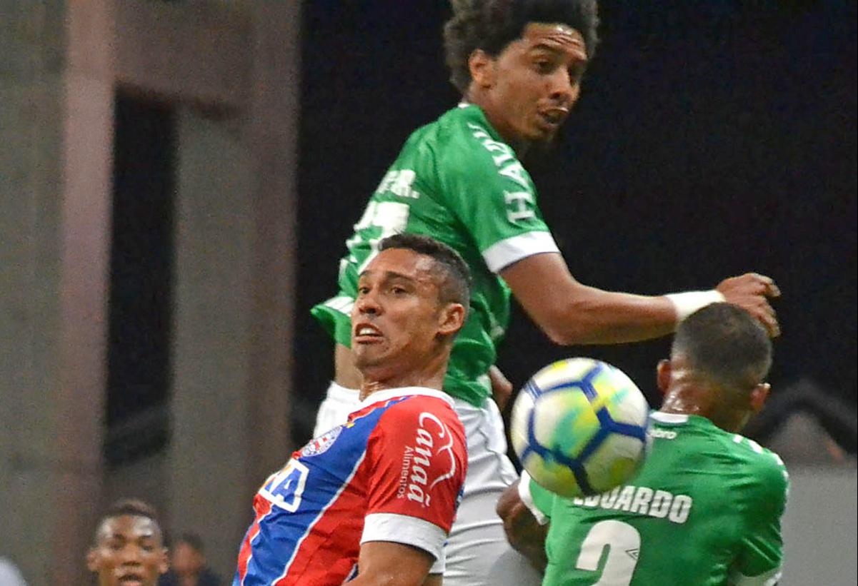 Chape e Bahia se enfrentaram neste domingo, em Salvador - ROMILDO DE JESUS/FUTURA PRESS/ESTADÃO CONTEÚDO