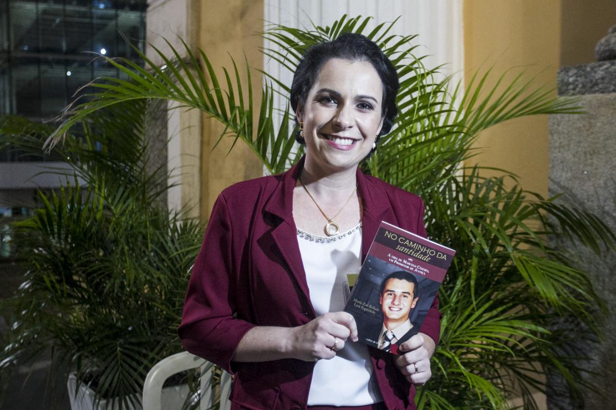 Escritora Maria Zoê - Marco Santiago/ND