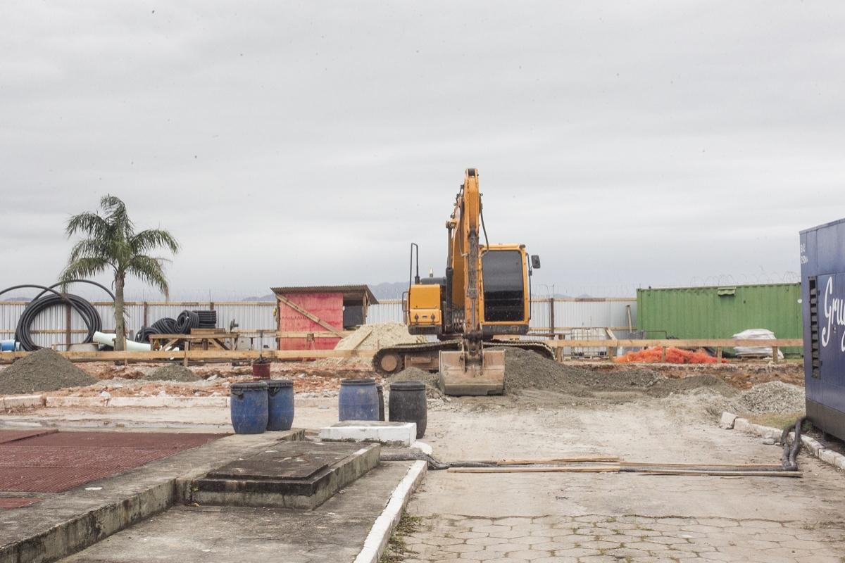 Das 16 estruturas, nove já foram colocadas e outras sete devem ser instaladas até o dia 5 de dezembro - Marco Santiago/Arquivo/ND