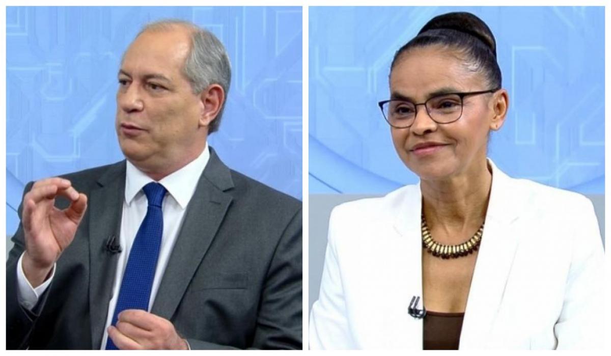 Ciro e Marina foram derrotados no primeiro turno das eleições - Divulgação