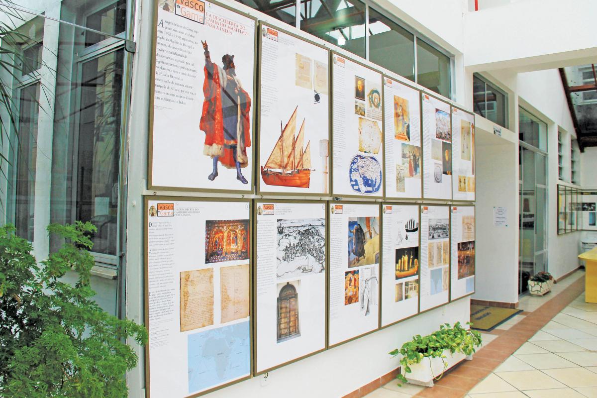 Exposição permite que alunos, professores e moradores conheçam e mantenham as memórias do país - PMB/Divulgação/ND