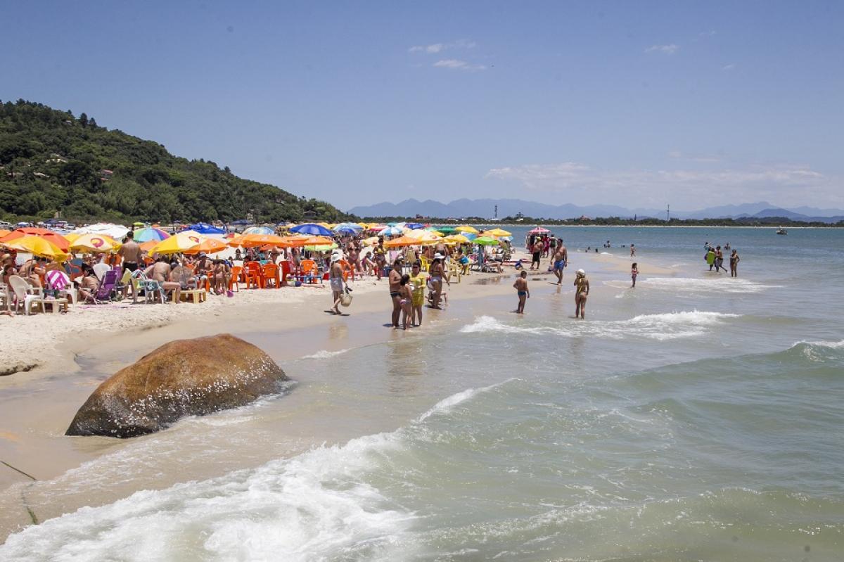 Praia do Forte, no Norte da Ilha - Marco Santiago/ND