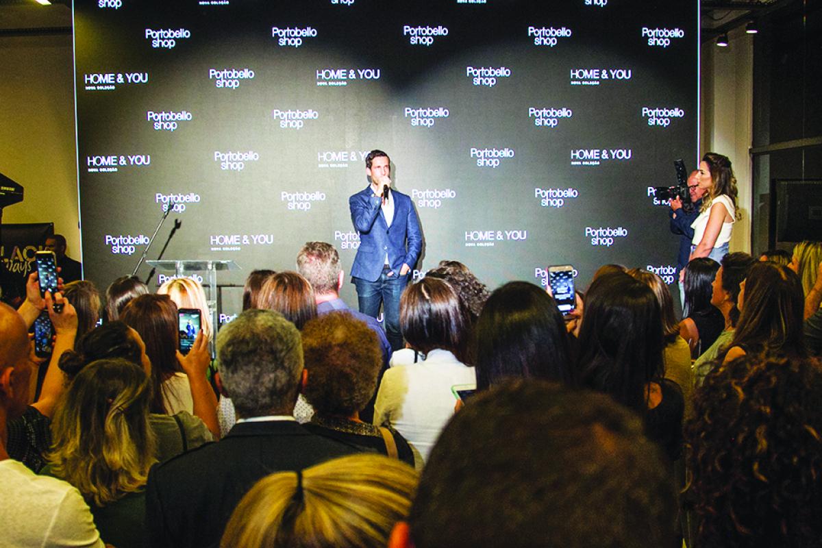Pedro Andrade no evento que reuniu cerca de 400 profissionais do segmento na Capital - Marco Santiago/ND
