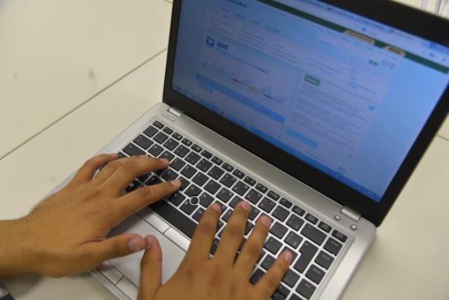 O programa gerador da declaração do Imposto de Renda da Pessoa Física está disponível no site da Receita Federal - Agência Brasil/Divulgação