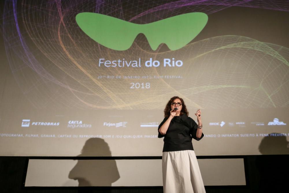 Ilda Santiago durante o Festival do Rio 2018 - Davi Campana/R2Foto/Divulgação/ND