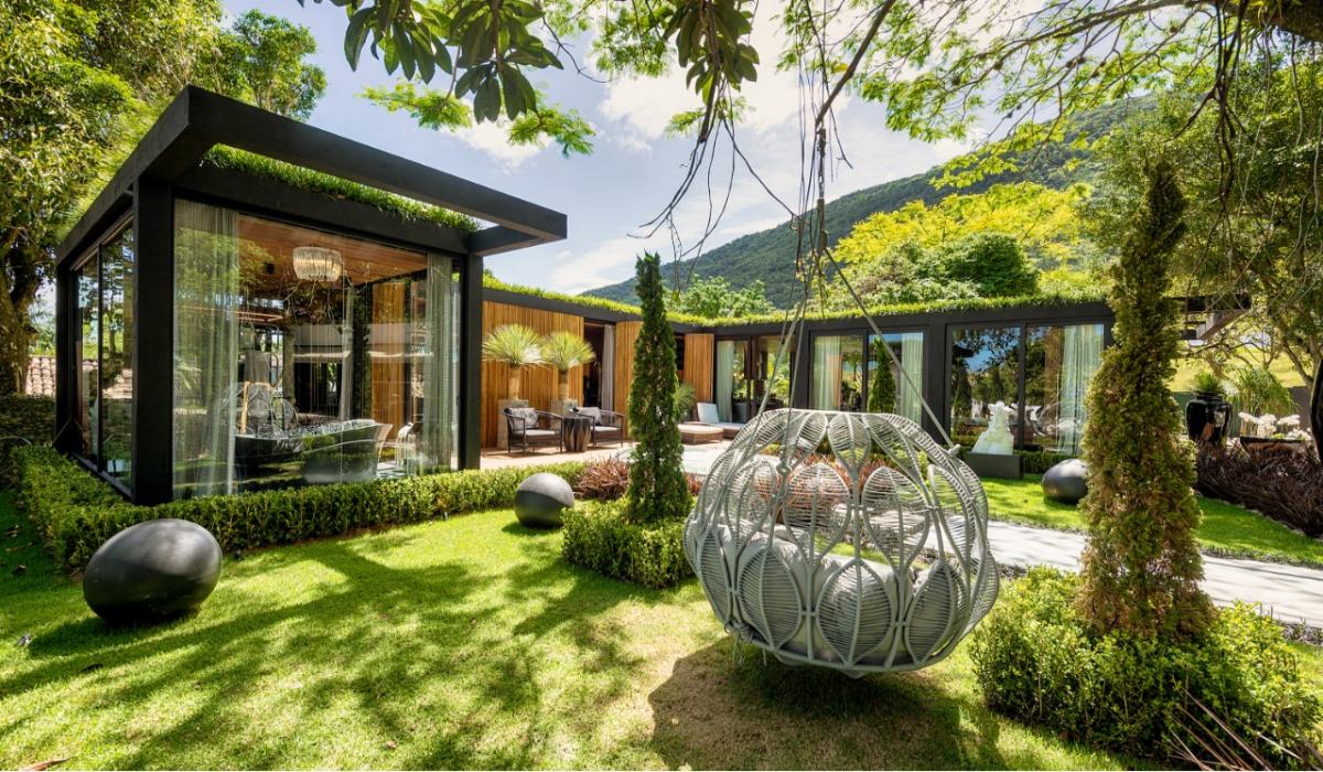 The Garden Loft, por Fábio Silva e Allan Chierighini, da Progetta Studio, e pela profissional Rose Campos Martorano - Foto/Lio Simas