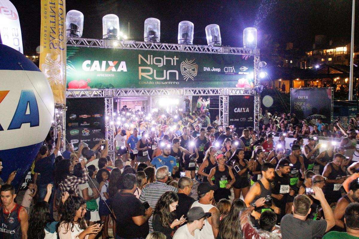 Inscrições estão abertas pela internet para a Night Run - Caroline Lucena/Divulgação/ND