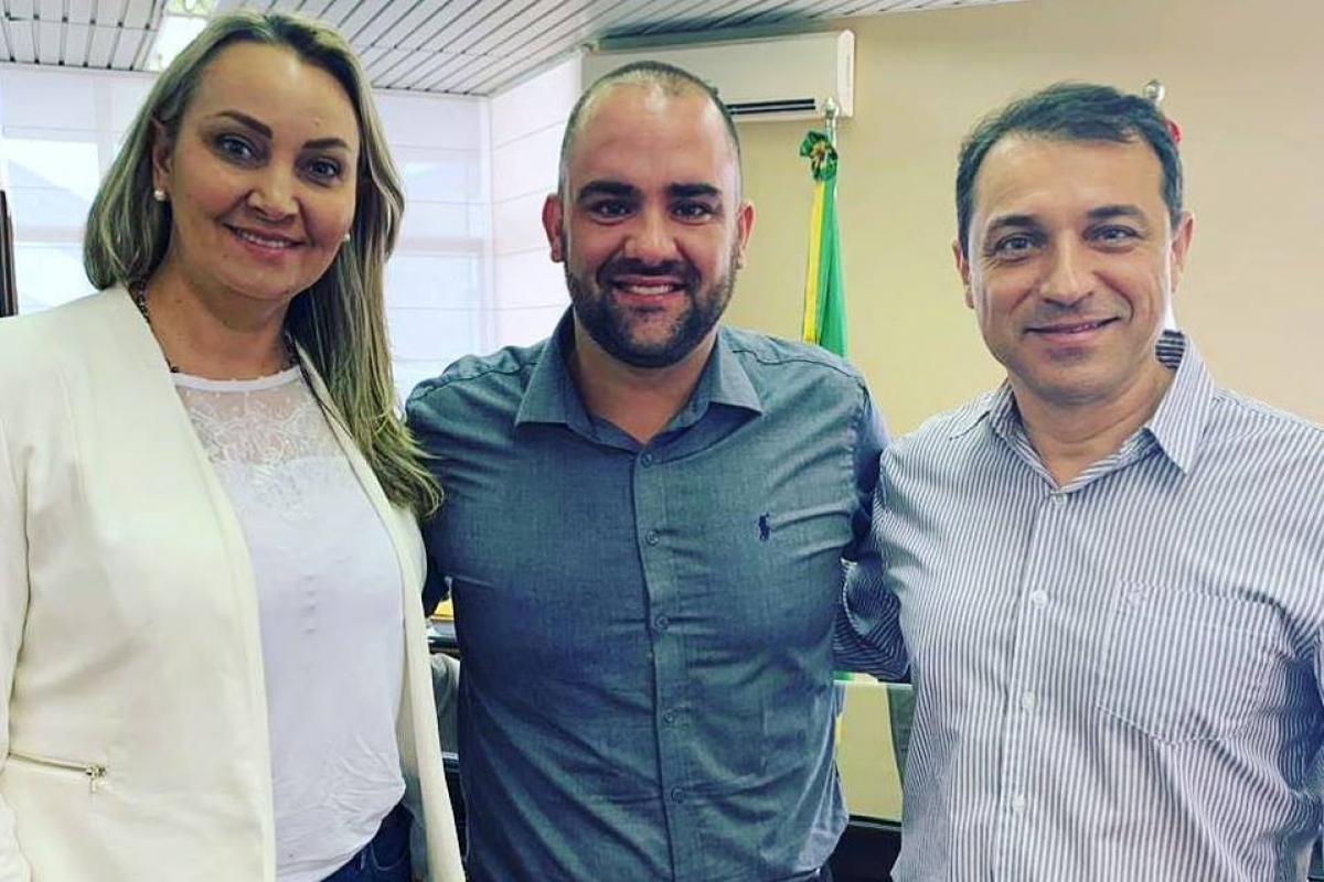 Daniela, Goulart e Moisés – Facebook/Reprodução/ND
