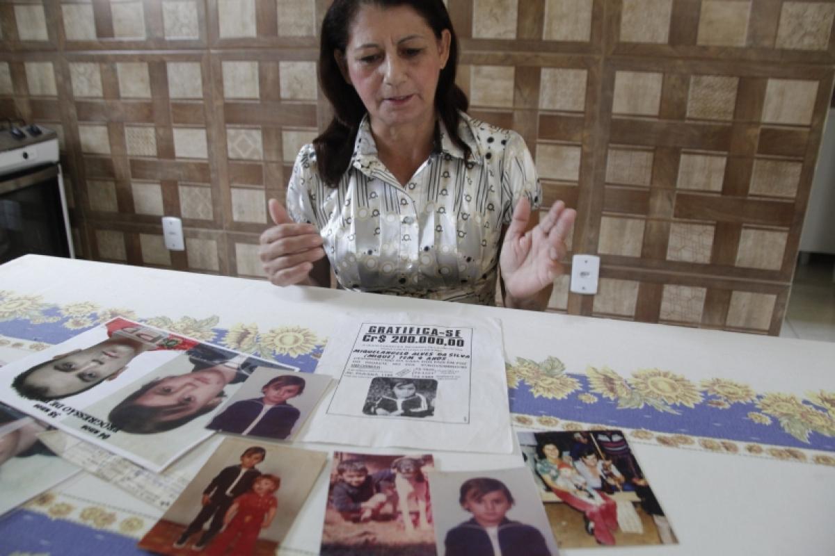 Elenilde morreu sem desistir de encontrar o filho - Eduardo G. de Oliveira/Agência AL