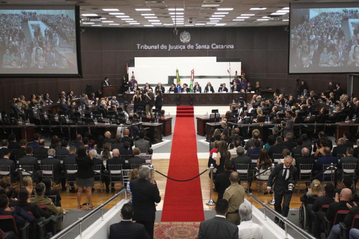 Cerimônia de diplomação dos eleitos em 2018 - Marco Santiago/ND
