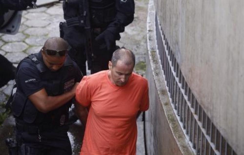 Neném da Costeira, quando foi condenado a 21 anos em Florianópolis - Flávio Tim/ND