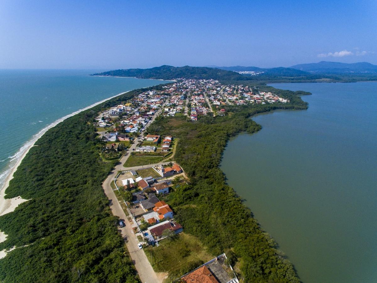 Pontal da Daniela, em Florianópolis - Flávio Tin/ND