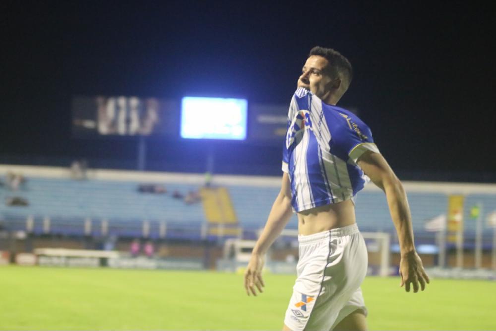 Matheus Barbosa, volante artilheiro do Avaí - Fred Tadeu/Avaí FC