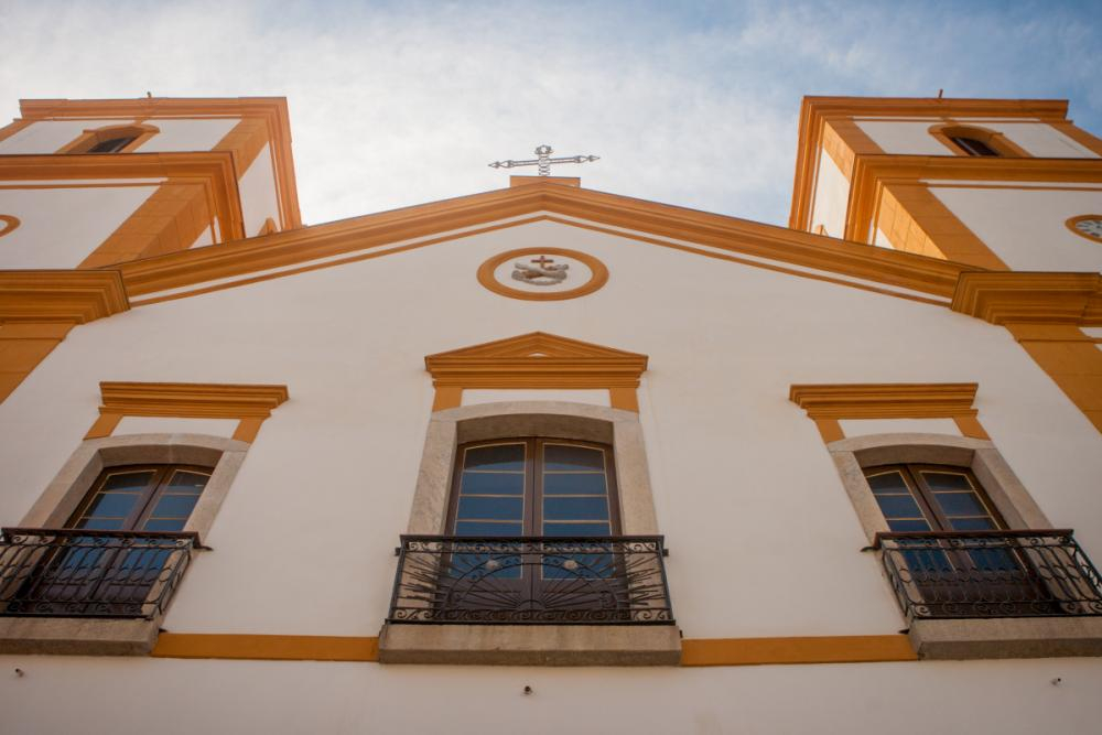 Igreja São Francisco recuperou cores originais em bege e marrom - Foto: Flávio Tin/ND