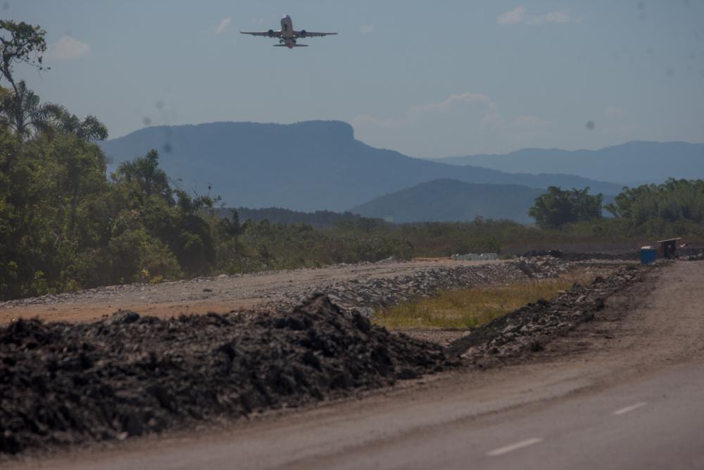 Congestionamentos são diários na SC-405, entre o trevo do Rio Tavares e o trevo da Tapera  - Foto: Flávio Tin/ND