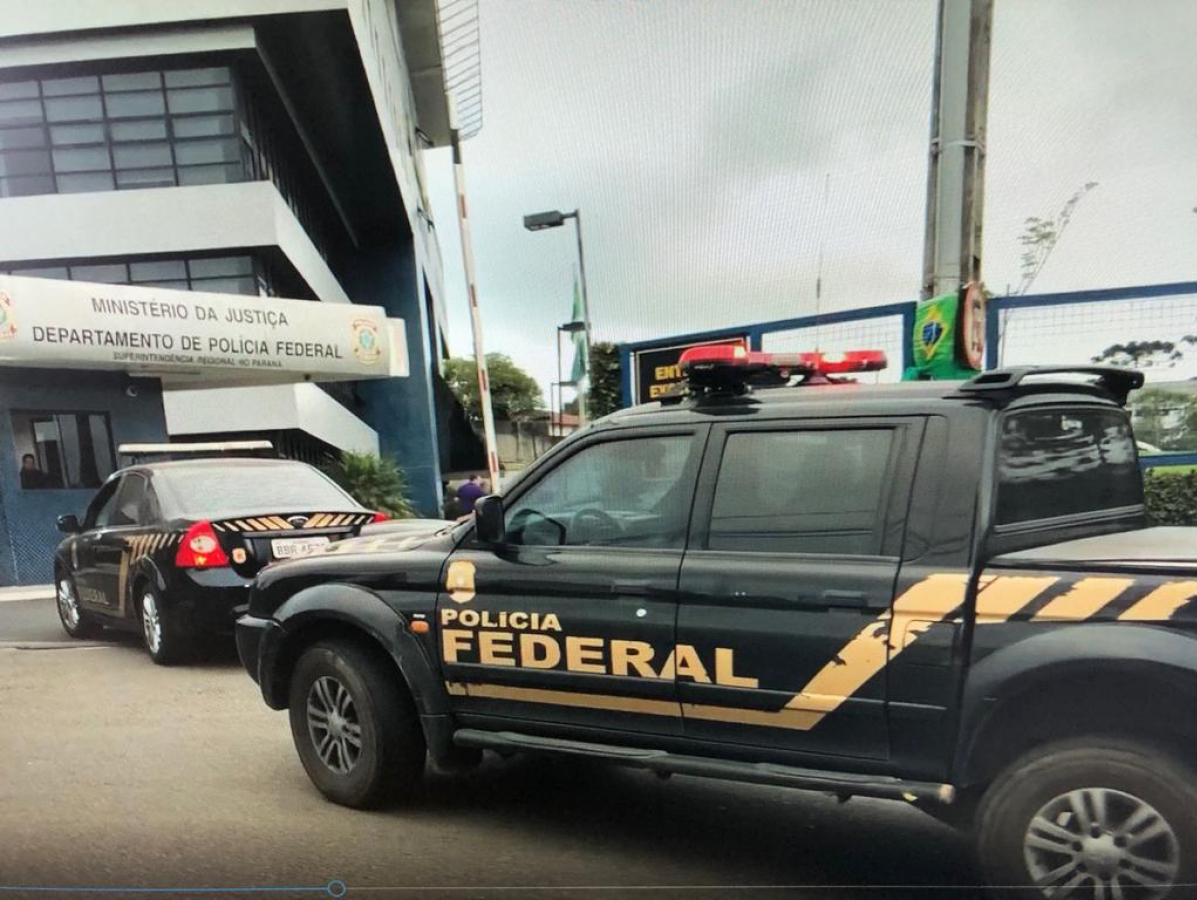 Operação Crotalus, da Polícia Federal do Paraná, tem um mandado em SC - PF/ Divulgação/ ND
