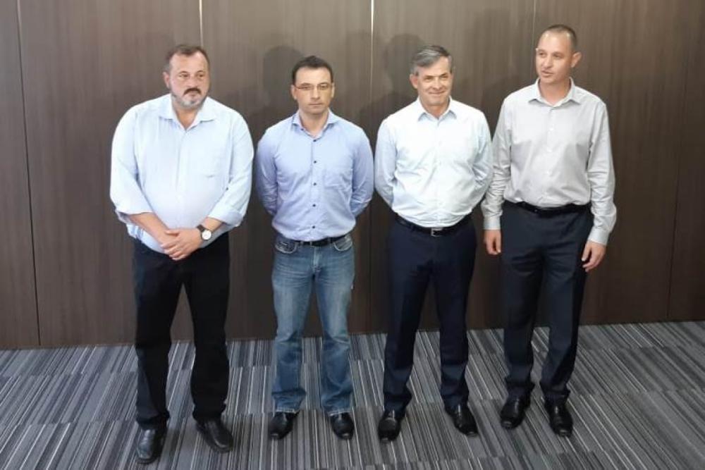 Lima, Zeferino, Eli e Tasca - Altair Magagnin/ND