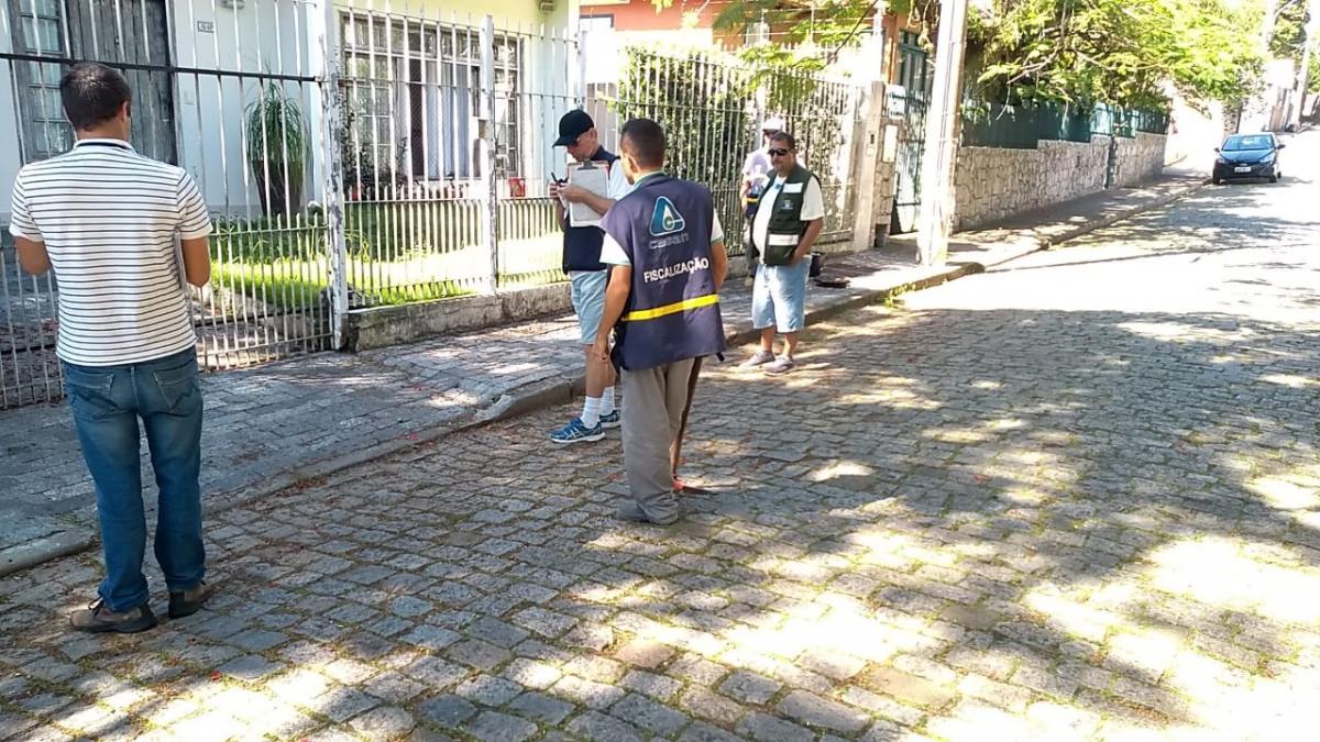 Programa Floripa Se Liga Na Rede passou pelo bairro Bom Abrigo nesta quarta-feira - PMF/Divulgação/ND