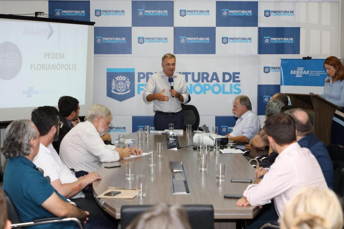 Prefeito cita programa Juro Zero como exemplo de iniciativa inovadora – Cristiano Andujar/Divulgação/ND