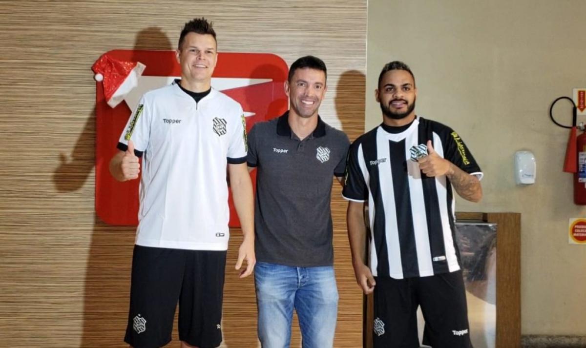 Alemão, Fernandes e Juninho - John Léo/Rádio Figueira/Divulgação/ND